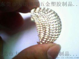 厂家直销麦克风话筒编织网头、镀银麦克风小网罩