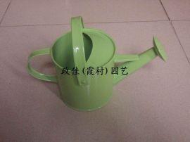 五金洒壶, 田园风绿色铁皮洒水壶, 迷你拍照道具家居装饰摆件洒壶