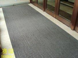 希尔顿酒店入口铝合金除尘地垫