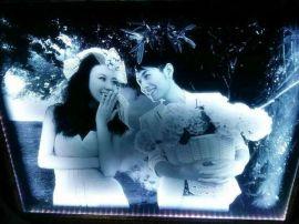 海华超白炫彩内雕玻璃