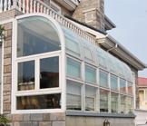 CJ800露台阳光房金属窗