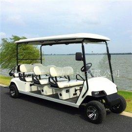 熱銷德州8座電動高爾夫球車,度假村觀光代步車