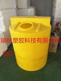 常州瑞杉塑胶科技专业生产500L塑料加药箱,药剂桶