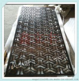 新款时尚黑钛金不锈钢屏风隔断 厂家定制不锈钢屏风