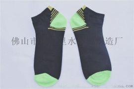 厂家批发棉袜 贴牌外贸针织袜子广州中筒商务袜