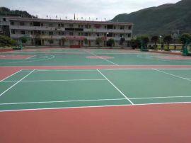 重庆四川贵州硅pu塑胶球场材料销售及施工