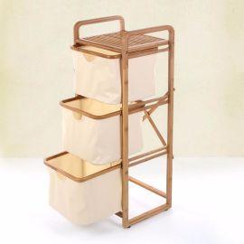 淘寶分銷竹制工藝品 竹制收納盒 衣服換洗滯納架