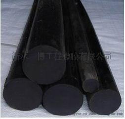 现货销售圆形氯丁橡胶棒 面板坝专用橡胶棒