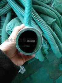 钢化炉专用阻燃通风橡胶软管