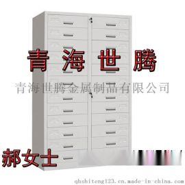 中二斗资料档案柜 玻璃对开门储物柜