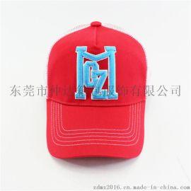 仲达厂家定做成人鸭舌网帽 纯棉刺绣棒球网帽 户外运动遮阳太阳帽