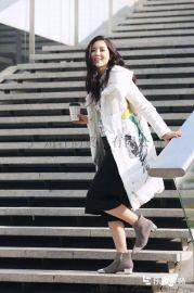 杭州高端品牌女装埃文秋冬装 专柜正品羽绒服品牌折扣店尾货剪标走份批发批发