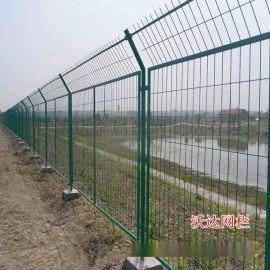 沃達現貨框架護欄網 高速公路護欄網 焊接網隔離柵