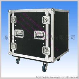 東莞市萊迪鋁箱制品廠專業設計帶萬向輪與輪窩的航空箱, 保修三年