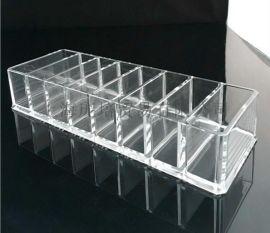 亞馬遜熱銷亞克力 化妝品展示架 時尚化妝盒粉餅盒