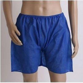 通用款无纺布一次性桑拿短裤 理疗按摩用一次性平角裤 无纺布短裤