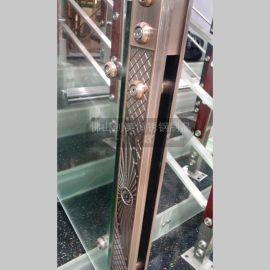 定制 酒店欧式风格不锈钢拉手  玻璃门不锈钢拉手 耐氧化 耐腐蚀