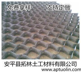 包头植草护坡土工格室 高250mm
