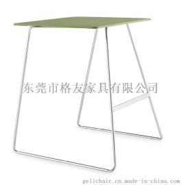 塑料桌椅两用椅 塑料折叠桌椅 折叠培训桌椅