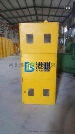 集中式燃气表箱三排六表位天然气表箱-港骐