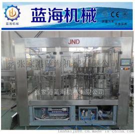 蓝海三合一矿泉水灌装机 矿泉水塑料瓶罐装设备生产线
