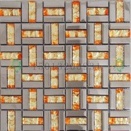 哪里有价格最低的电镀金箔马赛克,佛山堂碧馨金箔马赛克背景墙瓷砖厂家直销