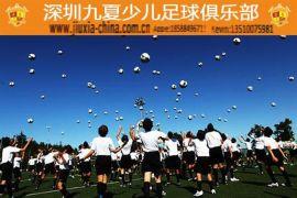 深圳九夏青少年足球培训学校招生