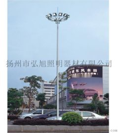 弘旭照明专业生产户外照明高杆灯精工制造25米6火高杆灯