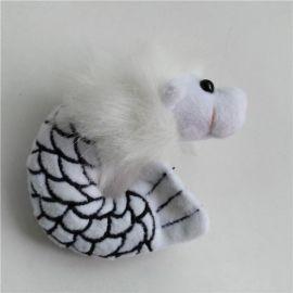 可爱萌款鱼尾狮挂件 创意旅游礼品毛绒玩具 宣传礼品吉祥物定制