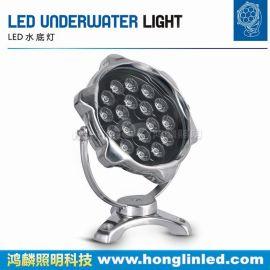 18w梅花面水底燈-LED大功率水底燈-水底燈廠家