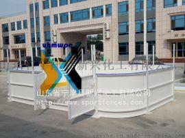 山东新兴专业生产冰球场围栏聚乙烯围挡