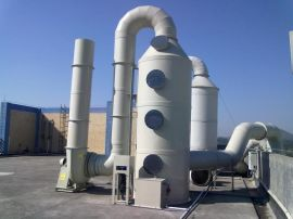 YJF-2喷淋式填料净化塔,电工电子废气净化工艺设备,厂家直销