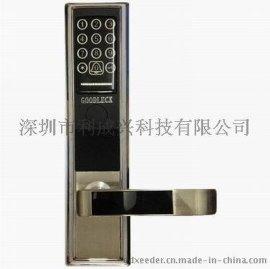 密碼鎖  智慧密碼電子鎖8128A  不鏽鋼鎖