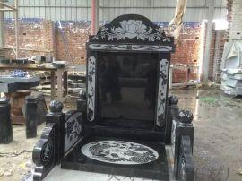 厂家定做山西黑墓碑 中国黑石材 河北黑 墓碑