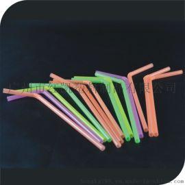 一次性环保弯吸管, 彩色莹光吸管, 万向饮料吸管