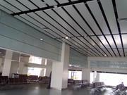 机房金属建材微孔吸音铝扣板吊顶