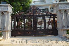 伊比亚A116铝艺庭院门