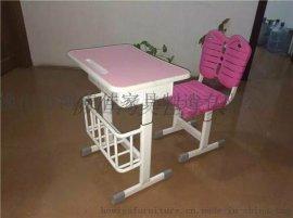 学生塑料桌,学生写字台广东鸿美佳生产提供