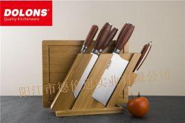 科隆不锈钢八件套 刀具套装 全套组合家用刀具菜刀套装厨具八件套