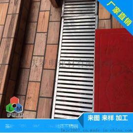 重庆厂家直销水篦子 304不锈钢矩管水篦子沟盖板 下水道雨水水篦子定做