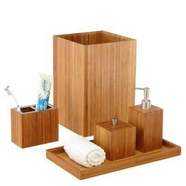 沐浴露给皂器 竹制工艺品 洗手液瓶子 浴室用品