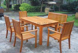 专业生产休闲桌椅  户外休闲桌椅报价 户外塑木桌椅报价