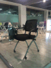 时尚带写字板可折叠韩国培训椅