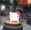 厂家直销专业定制泡沫凯蒂猫卡通造型 商场美陈 舞台布景道具