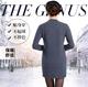 秋冬新款 純羊絨衫女中長款套頭毛衣韓版修身針織衫女