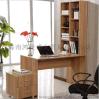 简约台式家用板式电脑桌可移动书柜公寓书台组合电脑桌办公桌