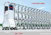深圳伸缩门厂家直销免费测量安装不锈钢快速伸缩门