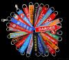厂家进口设备专业生产各类刺绣徽章、绣花章、肩章等
