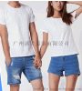花都區文化衫定制,新華莫代爾空白短袖t恤定做,男女畢業班服diy白色T恤定做,廣告衫文化衫定制