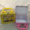 加工定制 精美儿童铁制方形午餐盒 马口铁金属手挽午餐盒